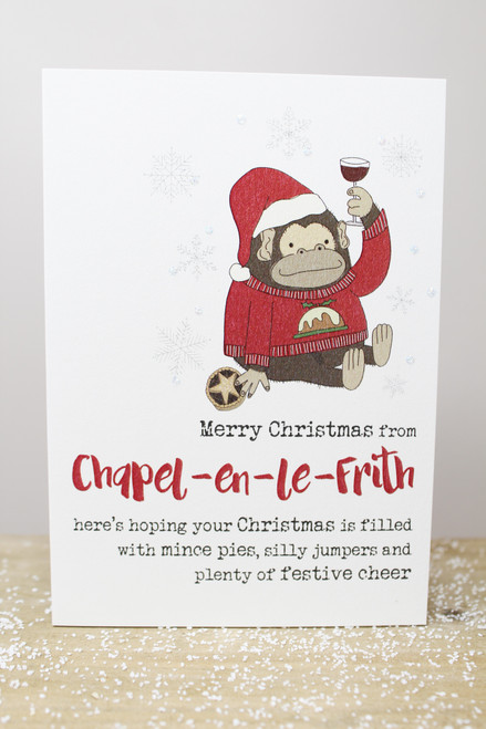 Merry Christmas From Chapel-en-le-Frith Card