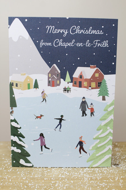 Merry Christmas From Chapel Card