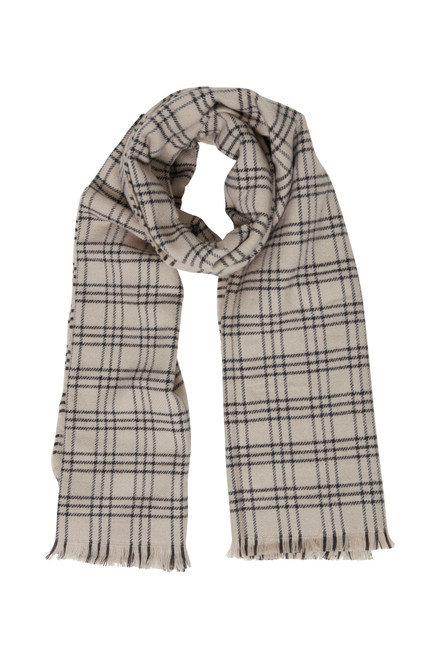 The Be Cosy Scarf by Fransa | Oxford Tan