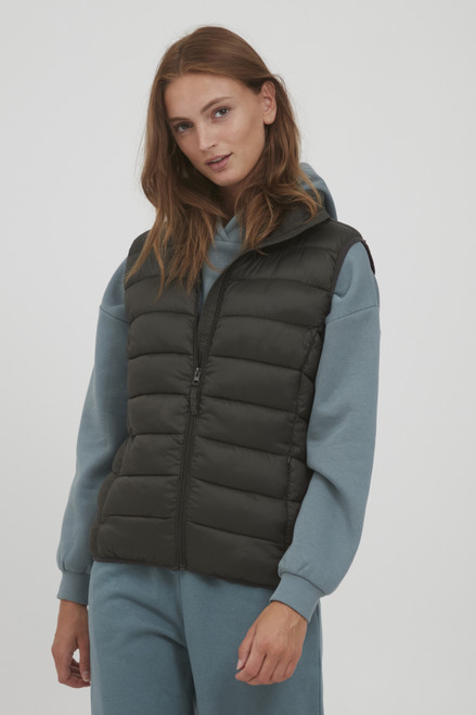The Belena Padded Waistcoat by b.young | Rosin