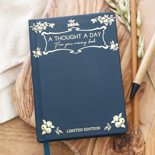 Vintage 5 Year Thought a Day Memory Book