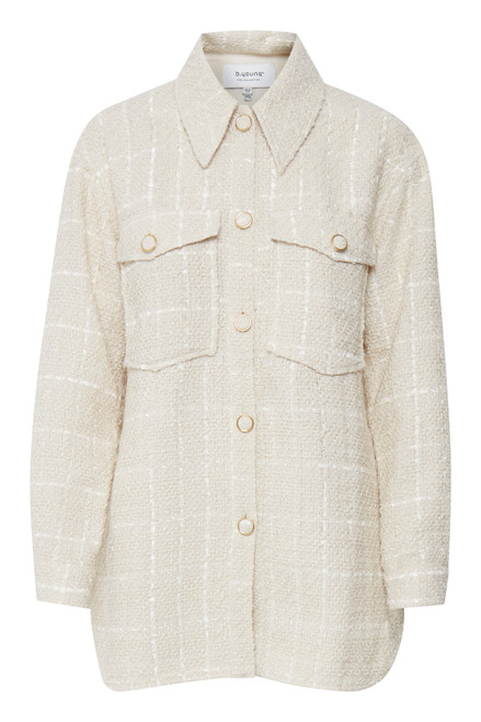 The Deso Shirt Jacket by b.young   Vanilla Ice