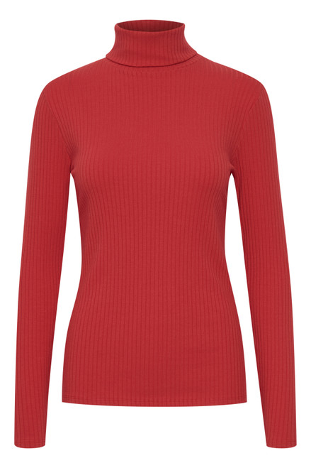 The Roella High Neck Top by b.young | Scarlet Sage