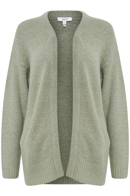 The Mirelle Short Cardigan by b.young | Seagrass