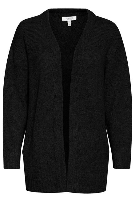 The Mirelle Short Cardigan by b.young | Black