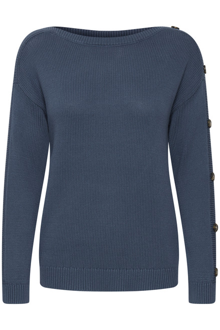 The Lydia Pullover by Fransa | Bering Sea