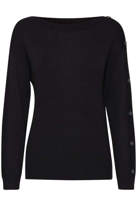 The Lydia Pullover by Fransa | Black