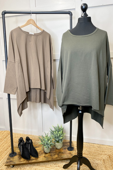 The Allison Top | Brown