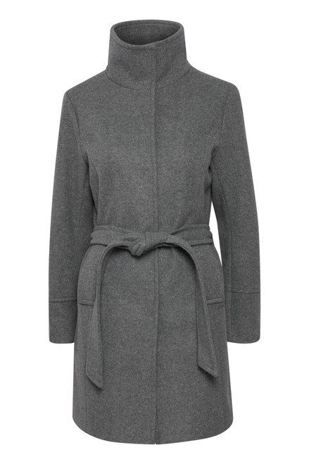 The Cilia Coat by b.young | Grey