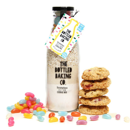 Scrumptious Jelly Bean Cookies in a Bottle