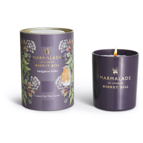 Marmalade of London & Mosney Mill Hedgerow Walks Glass Candle