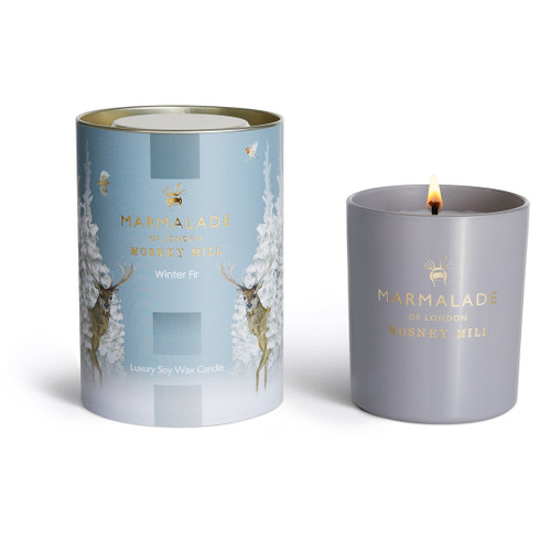 Marmalade of London & Mosney Mill Winter Fir Glass Candle