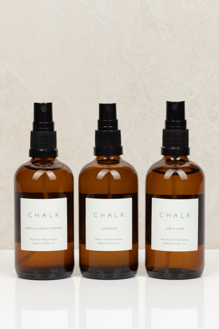 Amber Glass Room & Pillow Spray by Chalk