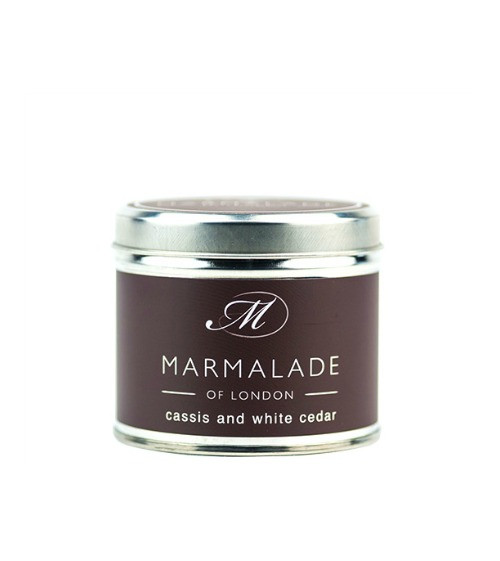 Marmalade of London Cassis and White Cedar Large Candle