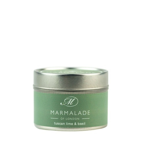 Marmalade of London Tuscan Lime & Basil Small Candle