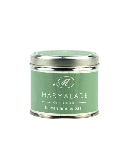 Marmalade of London Tuscan Lime & Basil Large Candle