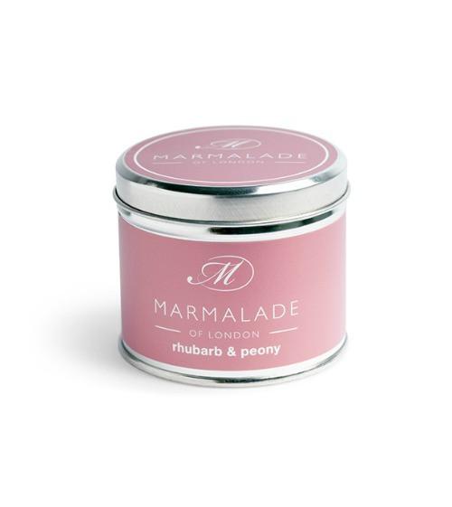Marmalade of London Rhubarb & Peony Large Candle