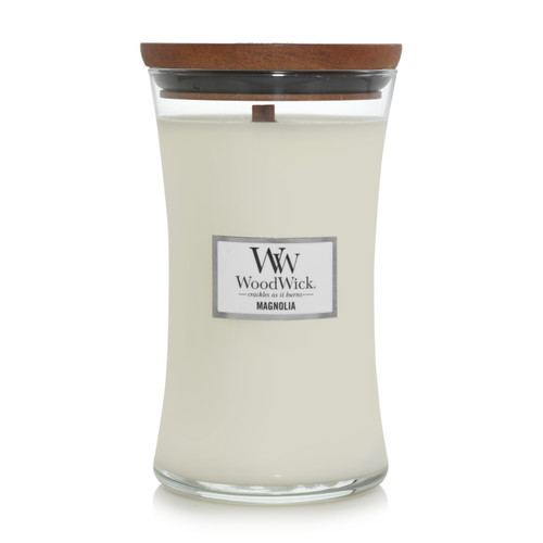WoodWick Magnolia Large Hourglass Candle