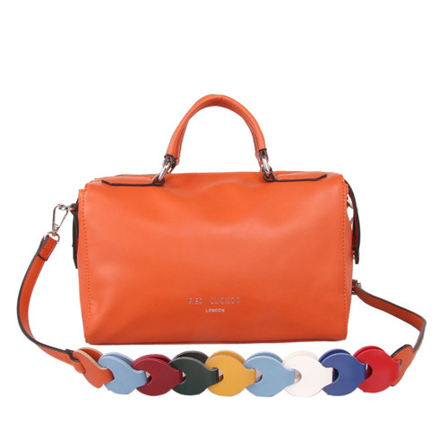 Red Cuckoo Bowling Bag in Rust