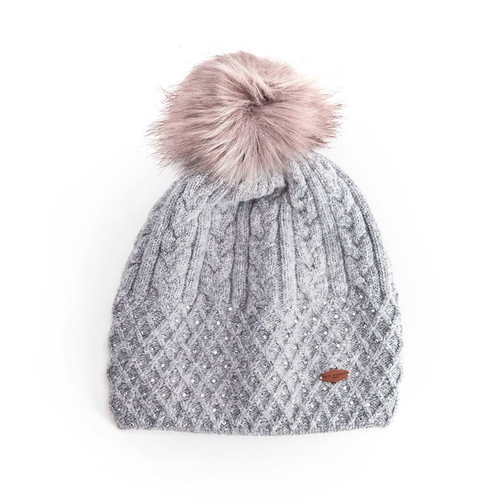Miss Sparrow Joss Hat in Grey
