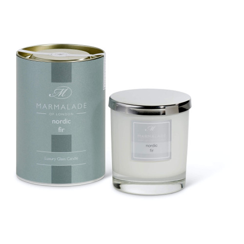 Marmalade of London Nordic Fir Glass Candle