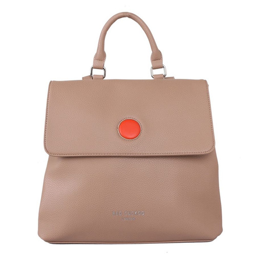 Red Cuckoo Backpack in Taupe