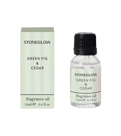 Stoneglow Modern Classics Green Fig & Cedar Fragrance Bottle