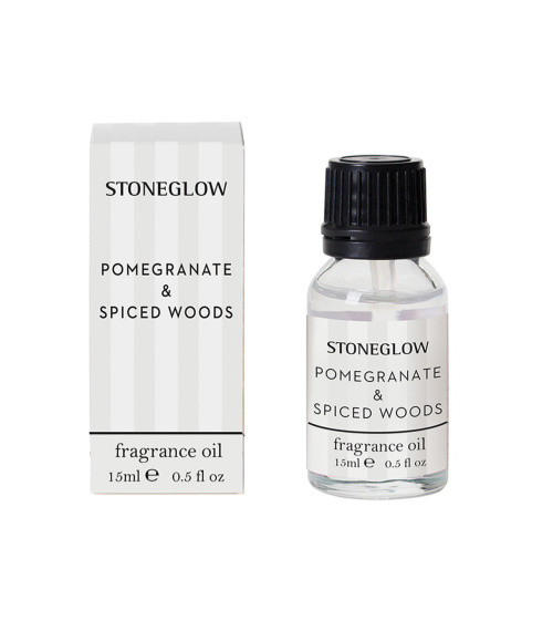 Stoneglow Modern Classics Pomegranate & Spice Woods Fragrance Bottle