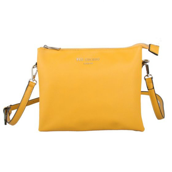 d5d4f1db00b1 Red Cuckoo Yellow Cross Body Bag