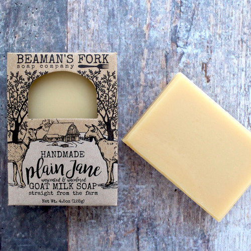 Plain Jane Goat Milk Soap