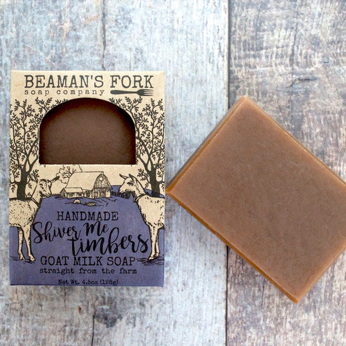 Shiver Me Timbers Goat Milk Soap