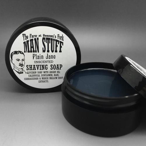 Plain Jane Shaving Soap (Unscented)