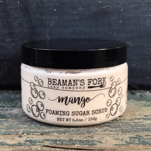 Mango Foaming Sugar Scrub