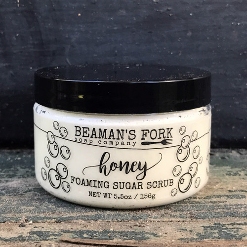 Honey Foaming Sugar Scrub