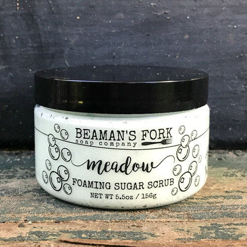 Meadow Foaming Sugar Scrub
