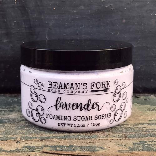 Lavender Foaming Sugar Scrub