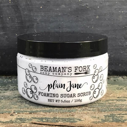Plain Jane Foaming Sugar Scrub
