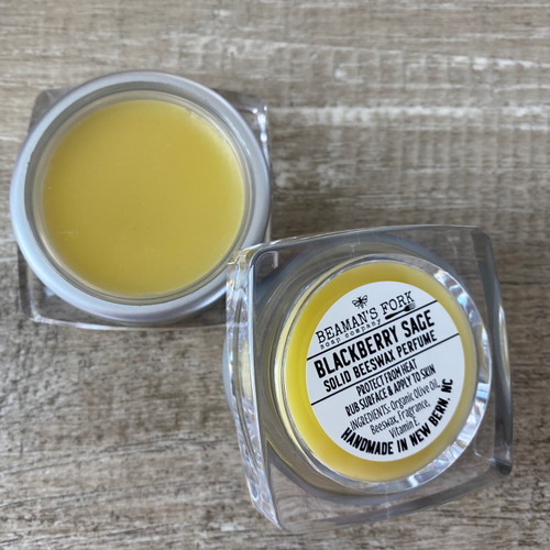 Blackberry Sage Solid Beeswax Perfume