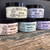 Our Foaming Sugar Scrubs are available in five scents: Mango, Honey, Meadow, Birch and Lavender.