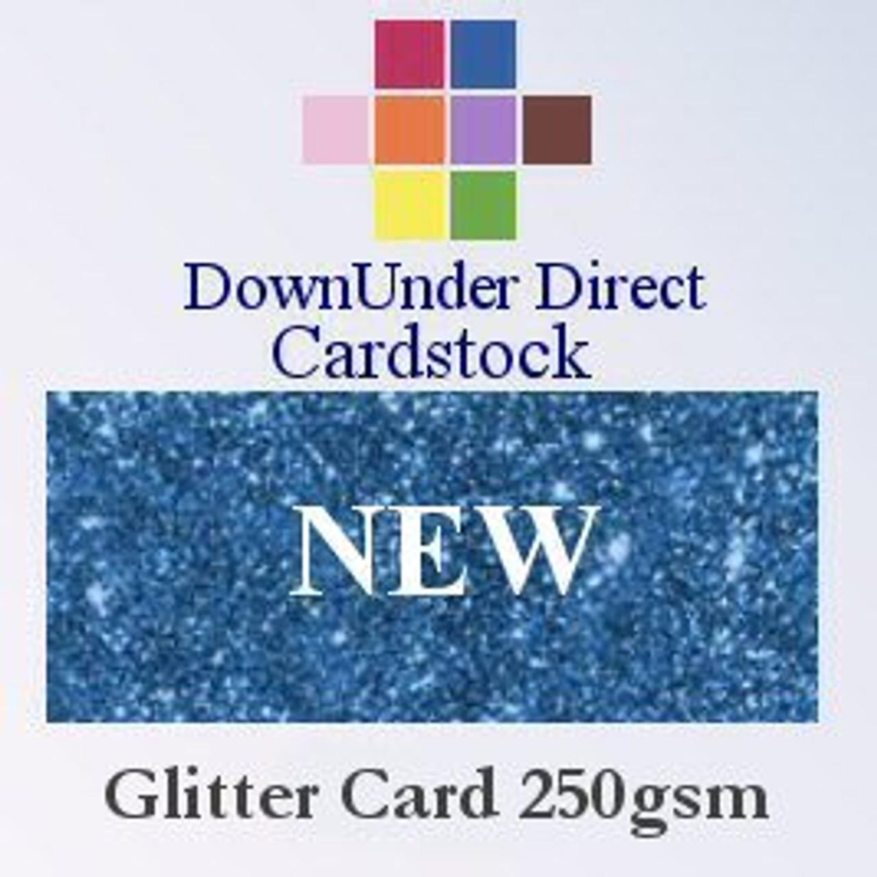 NEW 2020 Glitter Card 250gsm