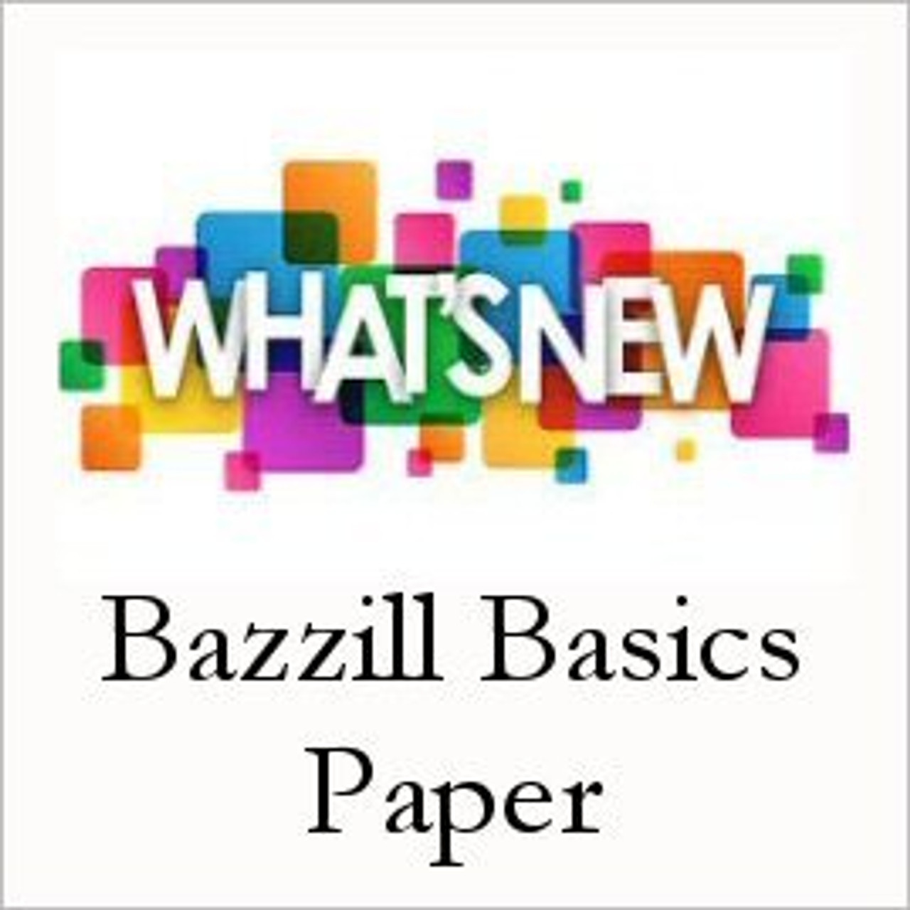 Bazzill Whats New