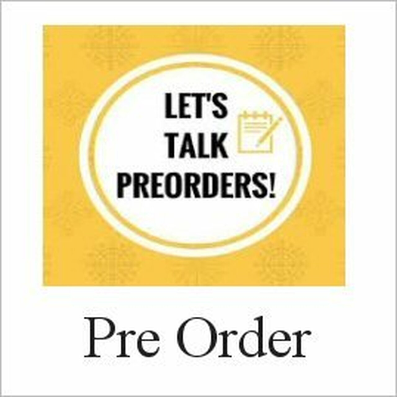 Pre-Orders-Coming Soon