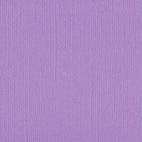 Coloured Cardstock Linen Texture Bellflower Purple 12x12 Cardstock