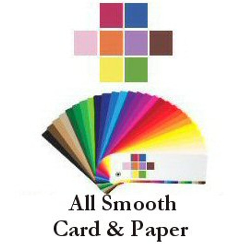 2- Smooth Swatch's -Cardstock and Paper