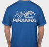 PIRANHA EXPERT T-SHIRT - BLUE X-LARGE