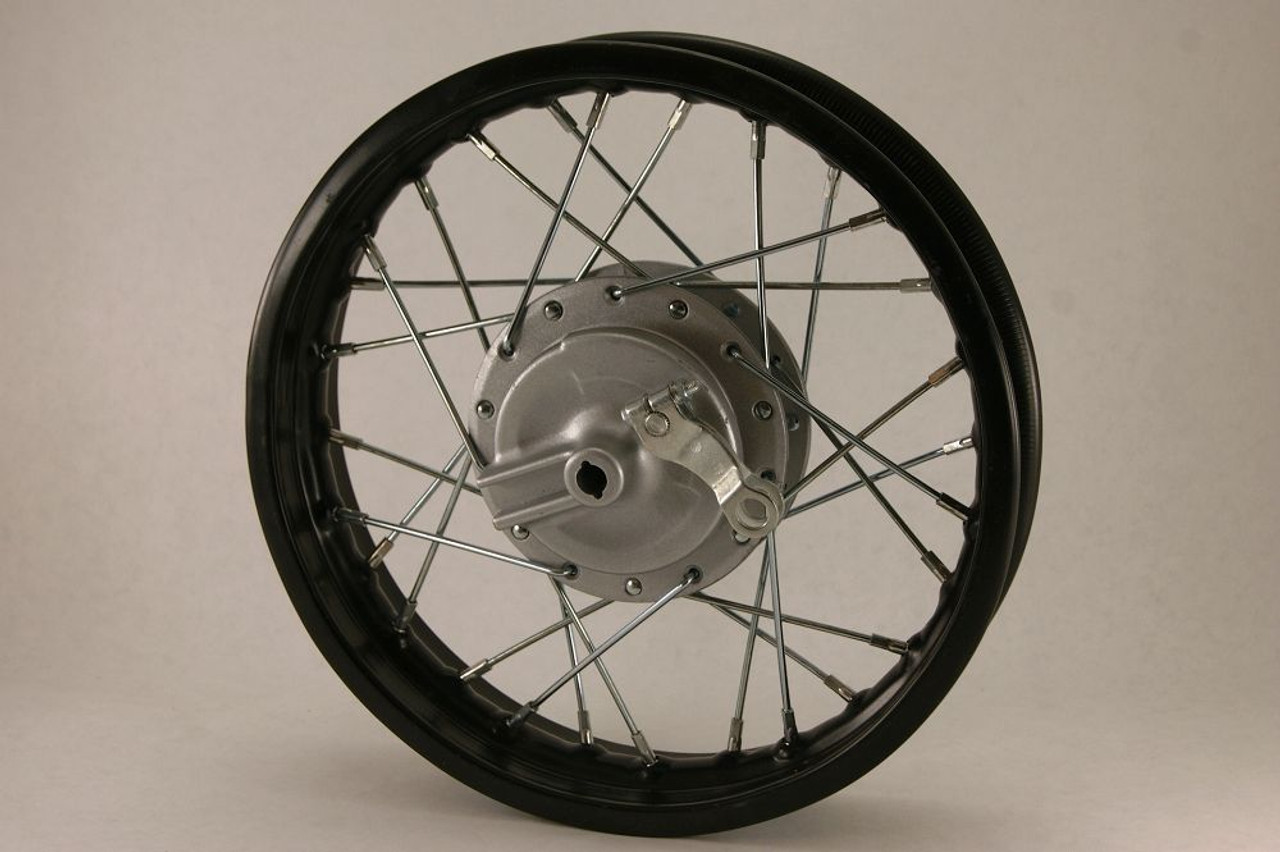 """12"""" CRF50 FRONT WHEEL WITH DRUM - 12"""" x 1.85"""