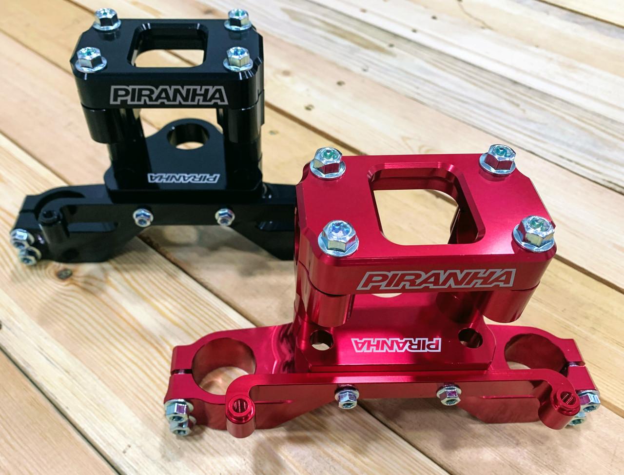 PIRANHA TOP CLAMP - CRF110 - RED
