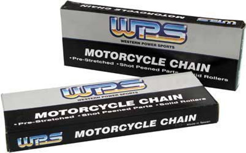 WPS MOTORCYCLE CHAIN 120 LINKS 428