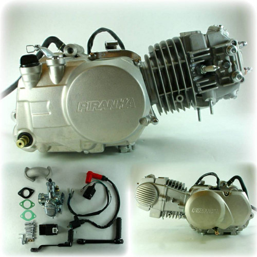 140cc Piranha Engine