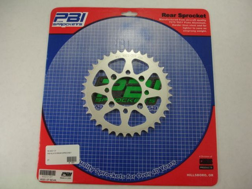 PBI KLX110 REAR SPROCKET 37